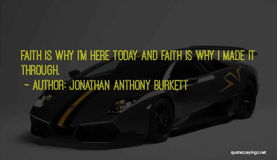 Love And Hard Times Quotes By Jonathan Anthony Burkett