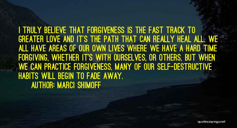 Love And Hard Times Quotes By Marci Shimoff