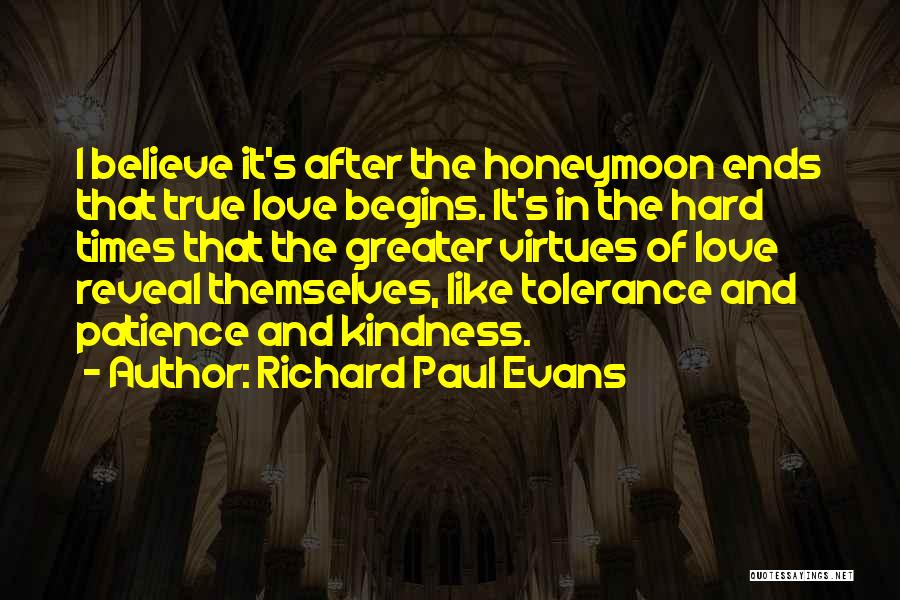 Love And Hard Times Quotes By Richard Paul Evans