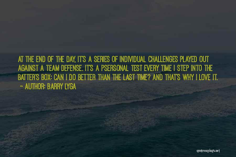 Love And Its Challenges Quotes By Barry Lyga