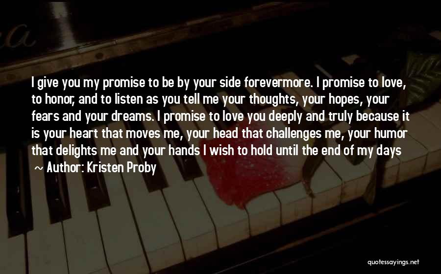 Love And Its Challenges Quotes By Kristen Proby