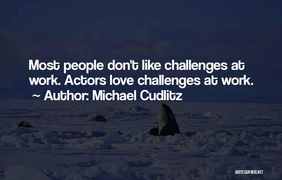 Love And Its Challenges Quotes By Michael Cudlitz