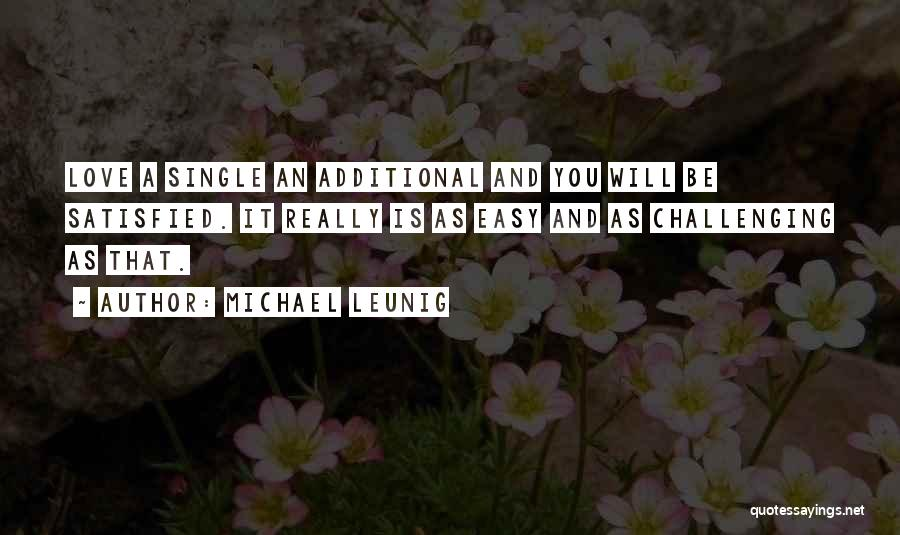 Love And Its Challenges Quotes By Michael Leunig