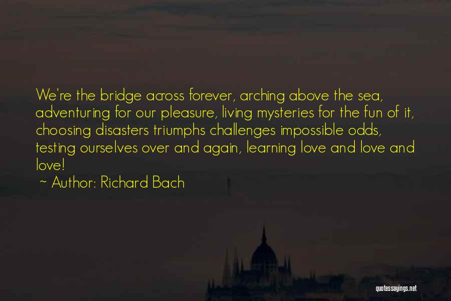 Love And Its Challenges Quotes By Richard Bach