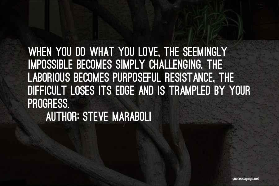 Love And Its Challenges Quotes By Steve Maraboli