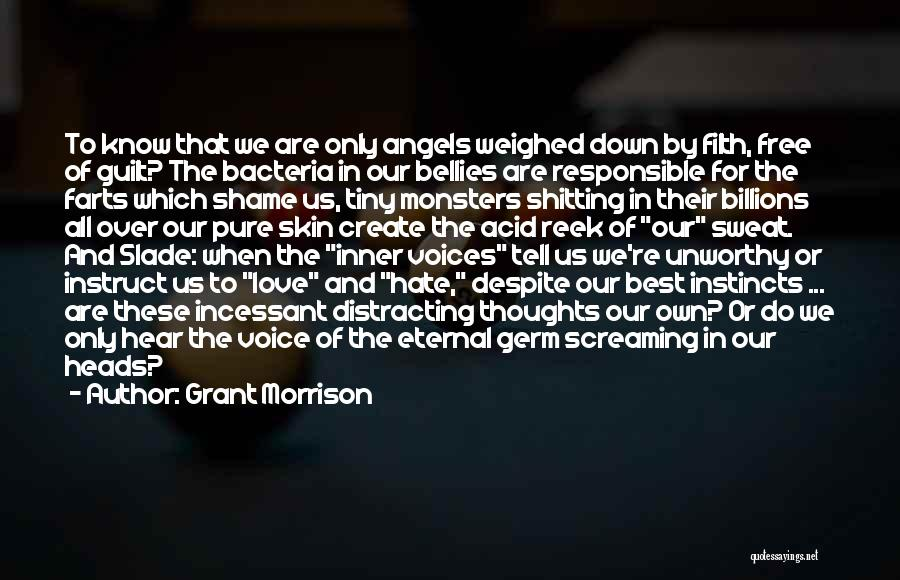 Love And Monsters Quotes By Grant Morrison