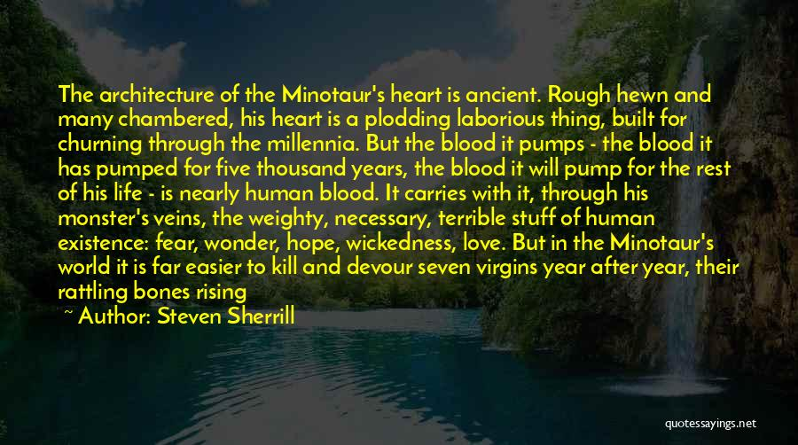 Love And Monsters Quotes By Steven Sherrill