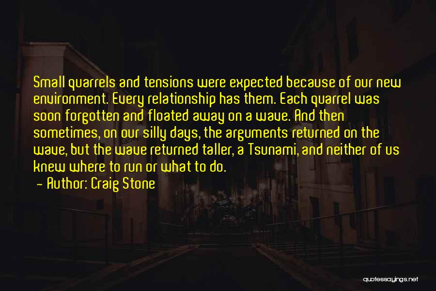 Love And New Relationships Quotes By Craig Stone