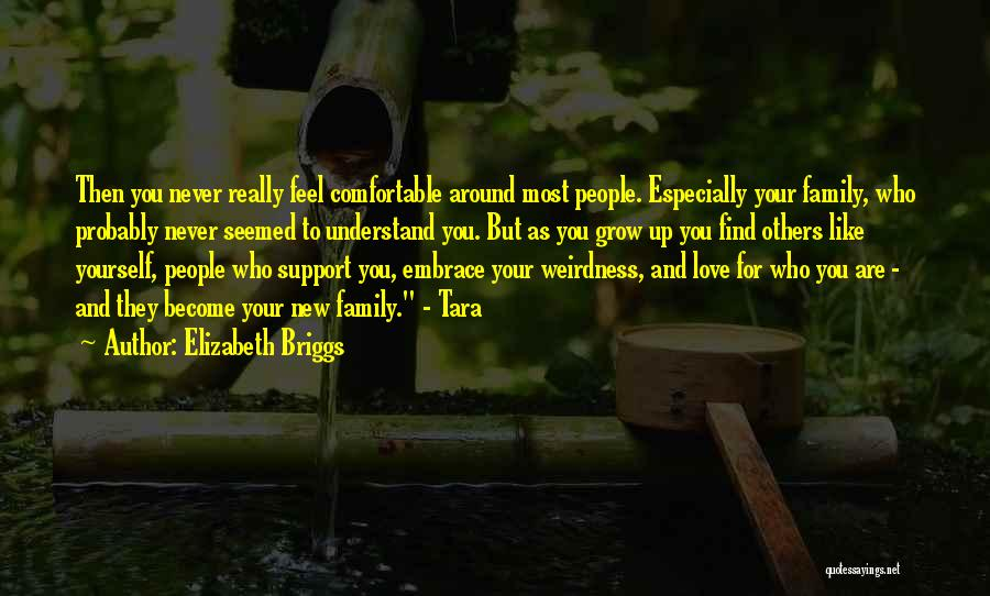 Love And New Relationships Quotes By Elizabeth Briggs