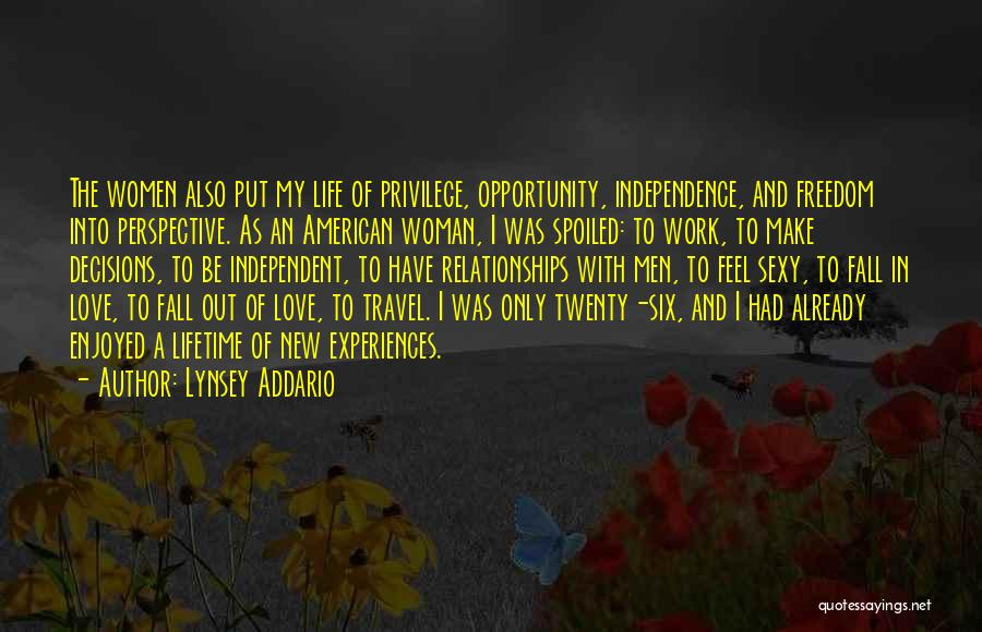 Love And New Relationships Quotes By Lynsey Addario