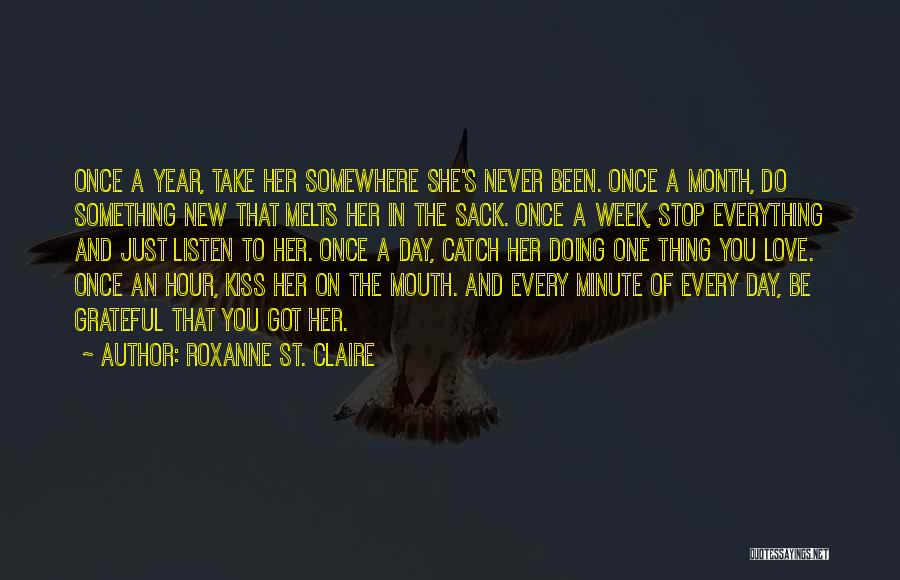 Love And New Relationships Quotes By Roxanne St. Claire