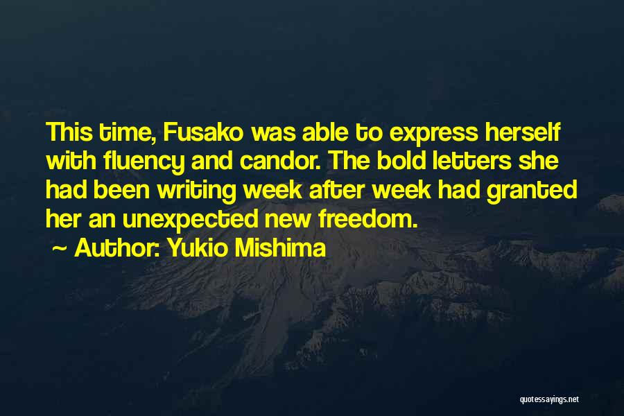 Love And New Relationships Quotes By Yukio Mishima