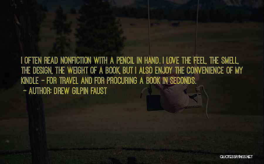 Love And Travel Quotes By Drew Gilpin Faust