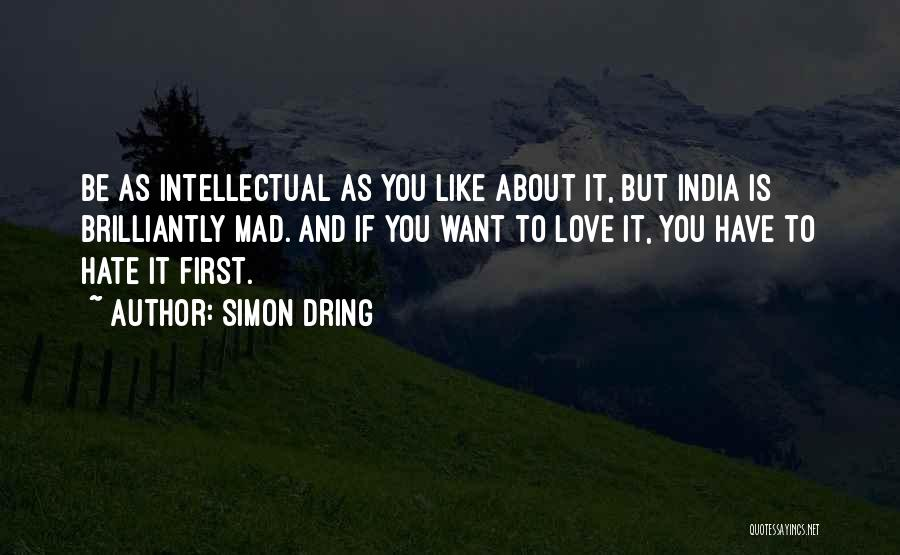 Love And Travel Quotes By Simon Dring