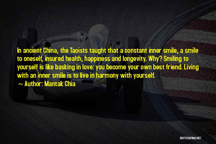 Love And Your Best Friend Quotes By Mantak Chia