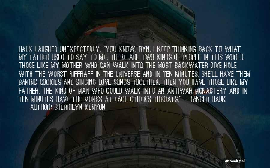 Love Back Together Quotes By Sherrilyn Kenyon