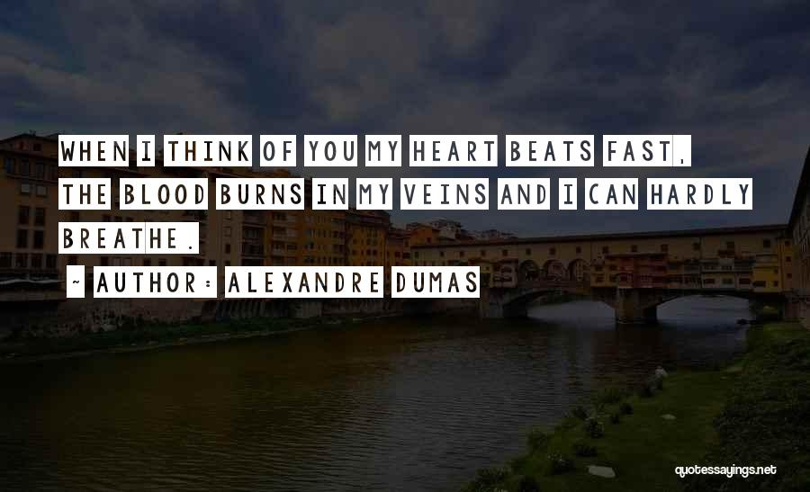 Love Beats Quotes By Alexandre Dumas
