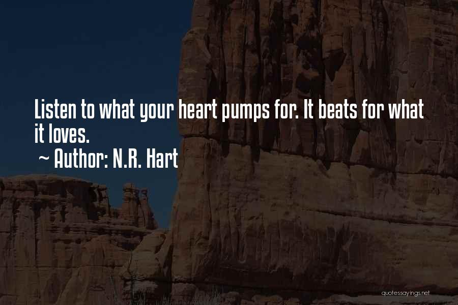 Love Beats Quotes By N.R. Hart