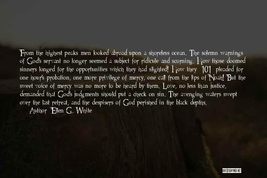 Love Black And White Quotes By Ellen G. White