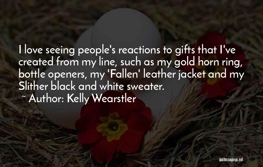 Love Black And White Quotes By Kelly Wearstler