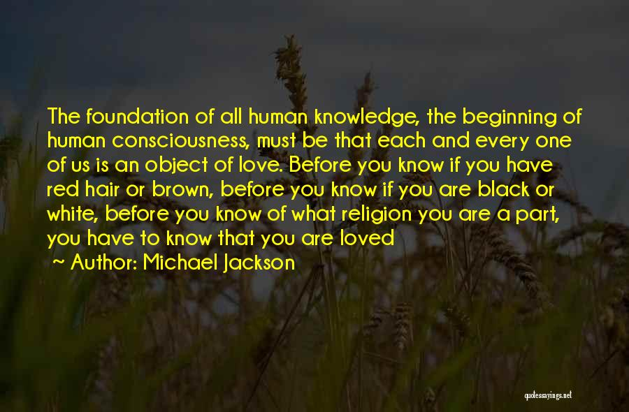Love Black And White Quotes By Michael Jackson