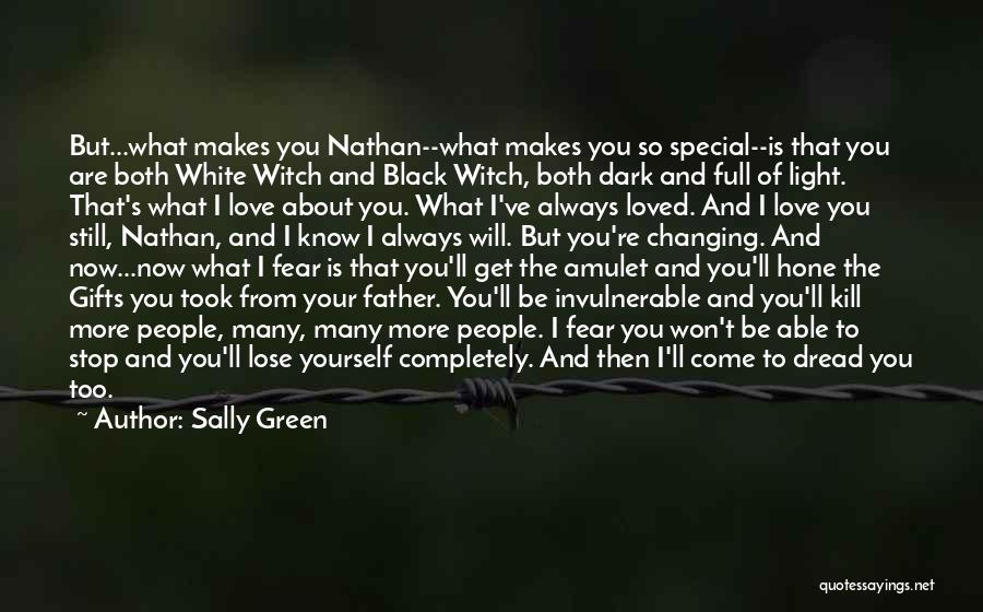 Love Black And White Quotes By Sally Green