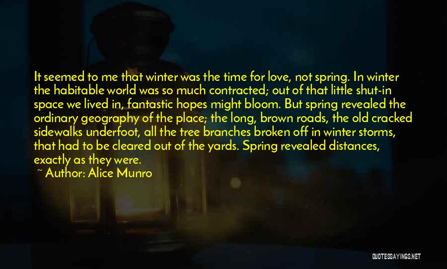 Love Branches Quotes By Alice Munro