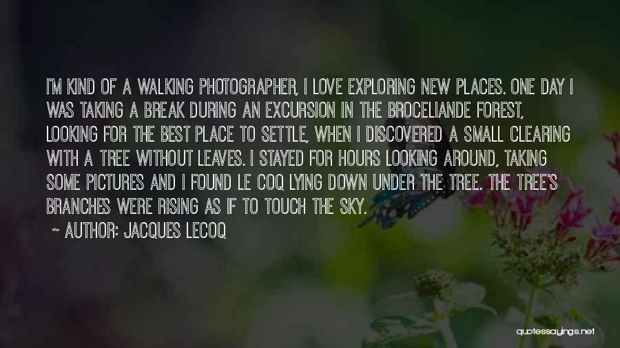 Love Branches Quotes By Jacques Lecoq