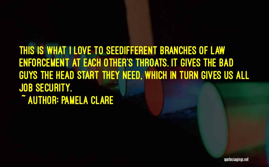 Love Branches Quotes By Pamela Clare