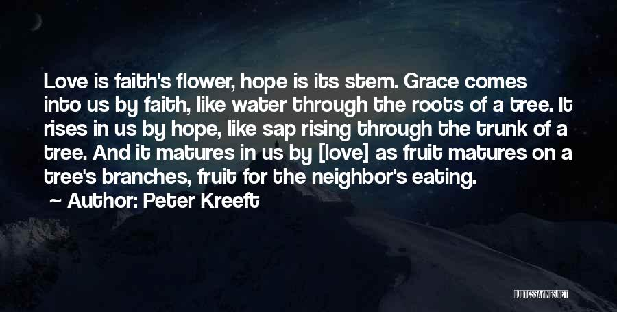 Love Branches Quotes By Peter Kreeft