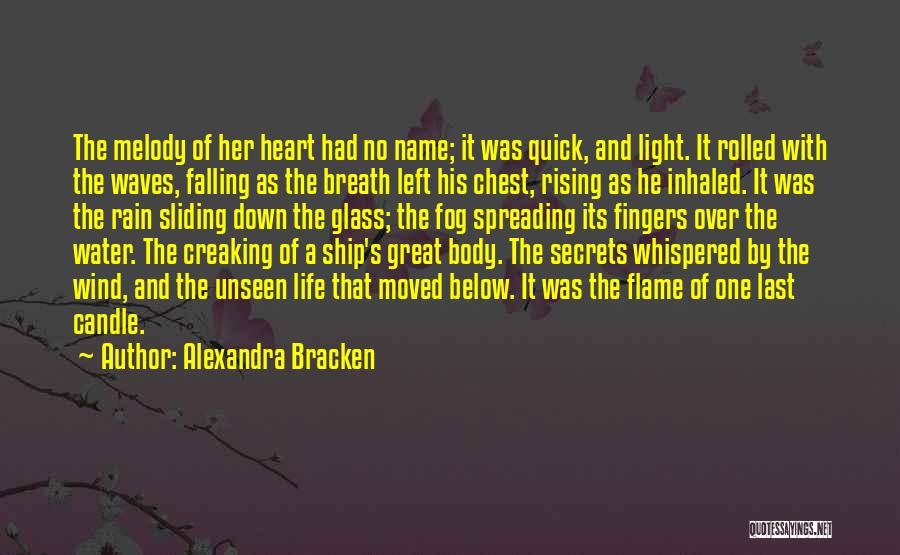 Love Candle Light Quotes By Alexandra Bracken