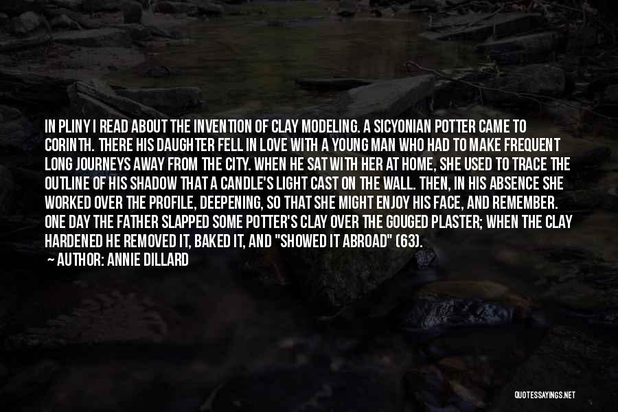 Love Candle Light Quotes By Annie Dillard