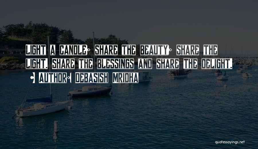 Love Candle Light Quotes By Debasish Mridha