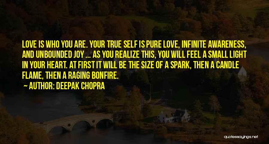 Love Candle Light Quotes By Deepak Chopra