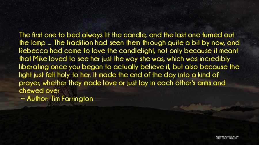 Love Candle Light Quotes By Tim Farrington