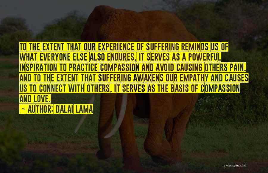 Love Causing Pain Quotes By Dalai Lama