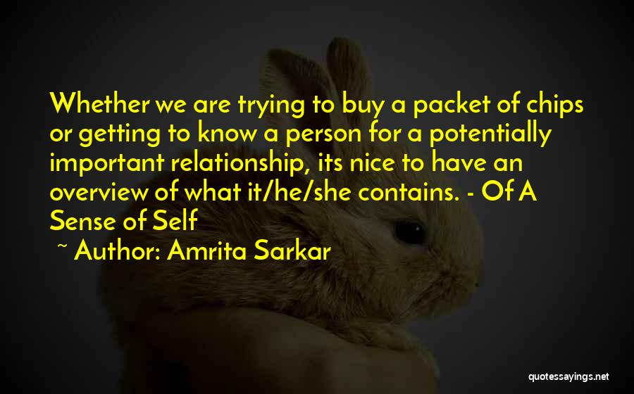 Love Chips Quotes By Amrita Sarkar