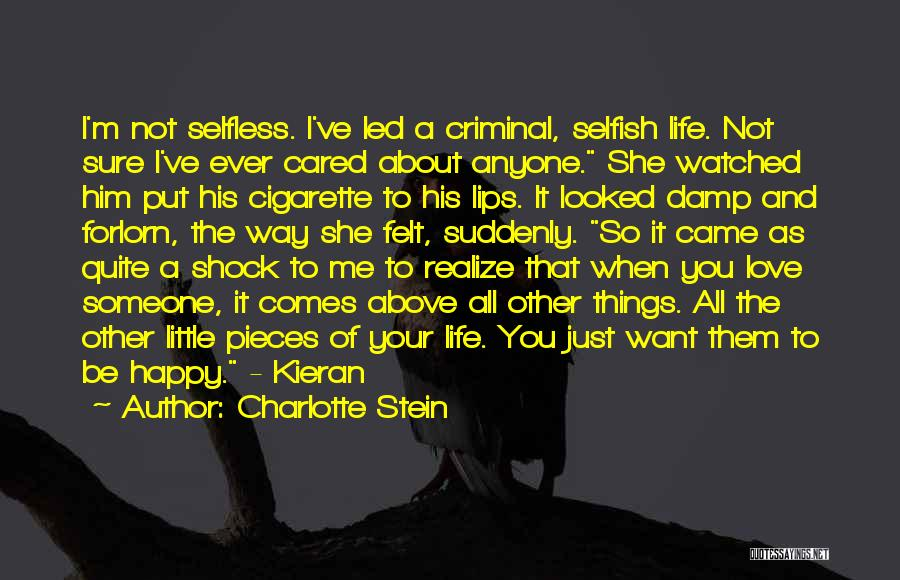 Love Criminal Quotes By Charlotte Stein