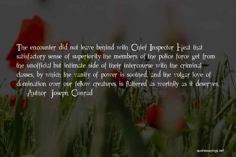 Love Criminal Quotes By Joseph Conrad
