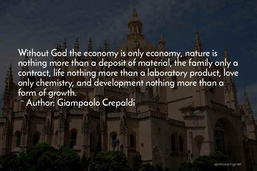 Love Economy Quotes By Giampaolo Crepaldi