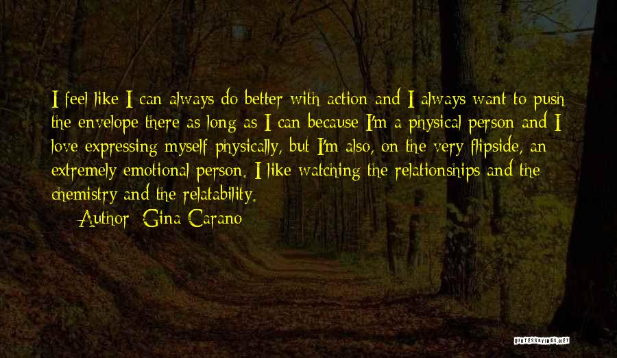 Love Expressing Quotes By Gina Carano