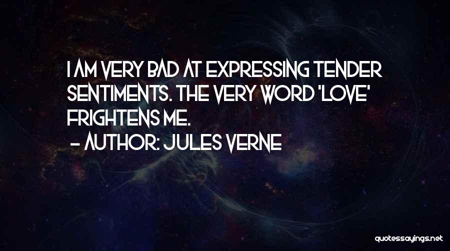 Love Expressing Quotes By Jules Verne