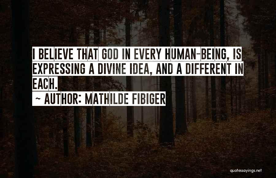Love Expressing Quotes By Mathilde Fibiger