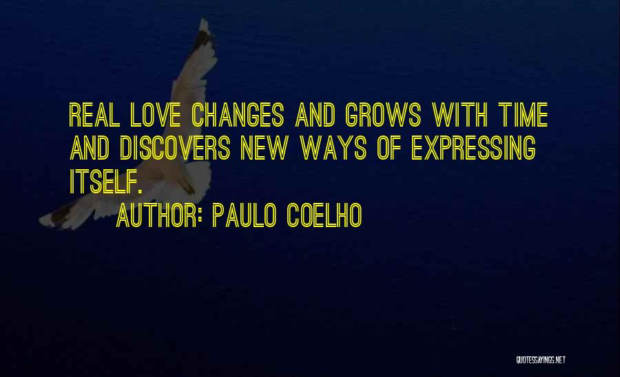 Love Expressing Quotes By Paulo Coelho