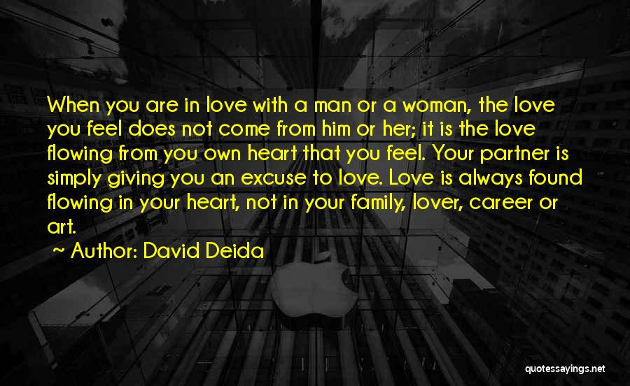 Love Flowing Quotes By David Deida