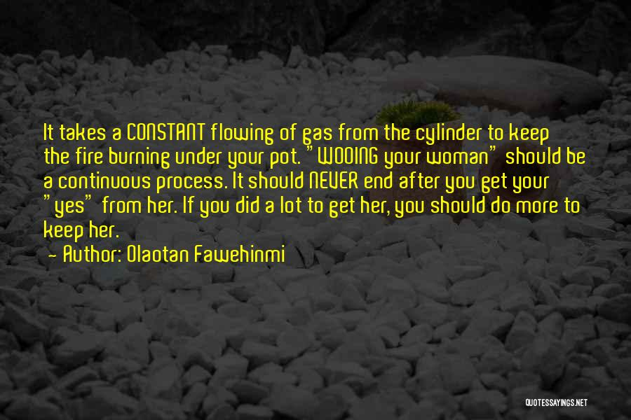 Love Flowing Quotes By Olaotan Fawehinmi