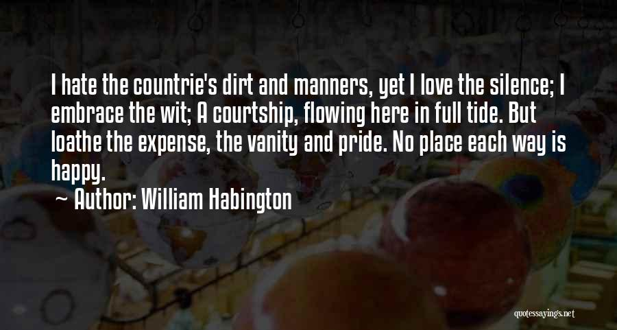 Love Flowing Quotes By William Habington
