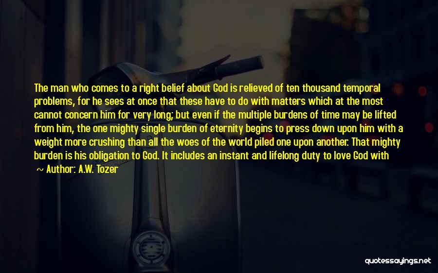 Love For All Eternity Quotes By A.W. Tozer