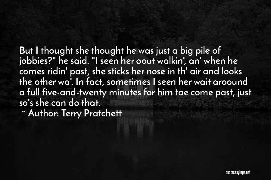 Love For Him Funny Quotes By Terry Pratchett