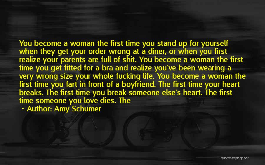 Love For Your Boyfriend Quotes By Amy Schumer